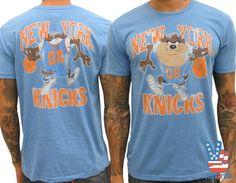 New York Knicks / Taz vintage inspired NBA tee  #Jeremylin  #knicks   www.junkfoodclothing.com