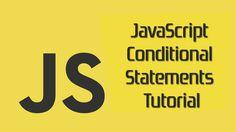 JavaScript Conditional Statements Tutorial   http://ift.tt/2yAoQx1  #javascript