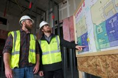 When Welty-Boldt Production Engineer Graham Ryan tells a trade partner that he's getting on the train, the partner isn't going to be watching the bucolic views Kay Jewelers, Spring 2015, Engineer, Pavilion, Graham, Tower, Medical, Construction, Events