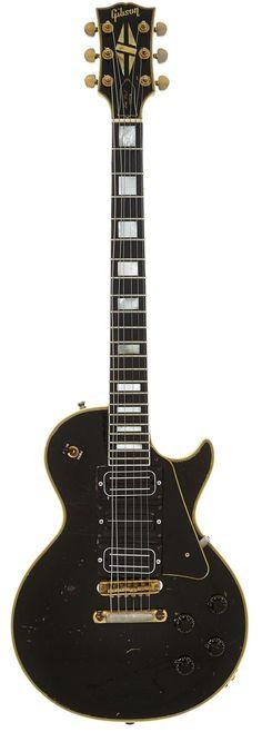 Buck Dharma's 1959 Gibson Les Paul Custom Black So - by Heritage Auctions