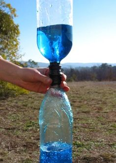 Tornado in a bottle - did this craft for my 4th grade science project! I was obsessed with tornadoes. :)