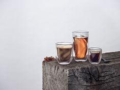 Set 2 pahare cu pereti dubli Elements, Earth, QDO, 350 ml Bar, V60 Coffee, Coffee Maker, Cocktails, Coffee Drinks, Kitchen, Home Decor, Inspiration, Coffee Maker Machine