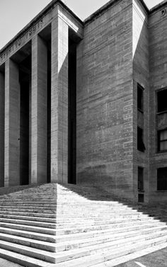 1000 images about citta universitaria rome on pinterest for Architecture totalitaire