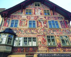 Schaffhausen architecture, Switzerland
