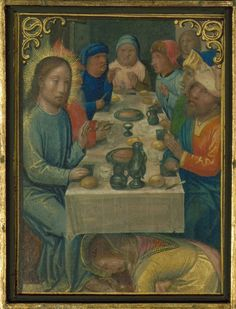 https://flic.kr/p/DLZbU7 | Stein Quadriptych, Feast in the house of Simon the Pharisee (Simon the Leper) in Bethany, St. Mary Magdalene anoints Christ's feet, Walters Manuscript W.442.A-D, Panel B 21r | The Stein Quadriptych was likely created in Bruges, and it has been attributed to Simon Bening and associates, ca. 1525-30. This collection of sixty-four miniatures is mounted in four panels, each in sets of sixteen miniatures per panel. The ensemble of miniatures was first cited in…