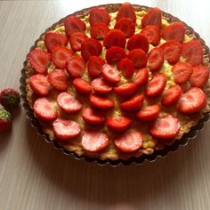 Strawberry tart  #homemade #proud #firsttime #delicious