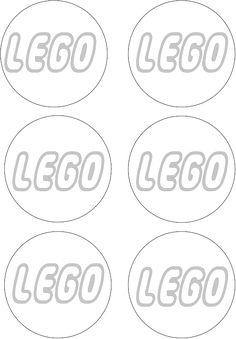 Printable Template for making those quick lego decorations  I SO NEEDED THIS A FEW WEEKS AGO!