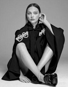Vogue Mexico November 2017 Sasha Pivovarova by Paola Kudacki