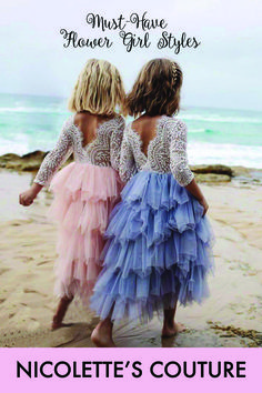 Unbelievably Cute, Couture Style Special Occasion Dresses. Your little princess will be the most, stunning, fashionable girl at the wedding. Our chic styles are perfect for flower girls, weddings, photoshoots, princess parties, holiday, christenings and birthdays.