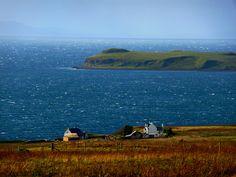 Hallin, Waternish, Scotland. by bearded iris, via Flickr