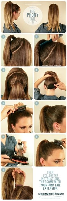 Hair Styling Step-By-Step Pictorial: The Phony Tail