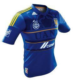 Tigres UANL presentó el nuevo jersey de visitante 2012.