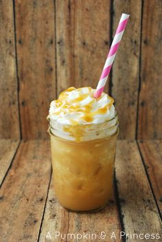 Caramel Frappuccino Recipe. Too much sugar, so I did none and a tsp Carmel and it works for us -Abre