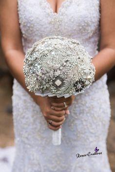Bridal Brooch Bouquet