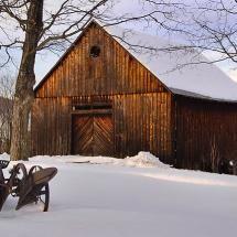 Old winter barn