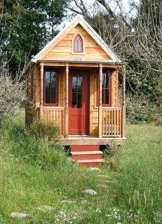 I love these tiny houses