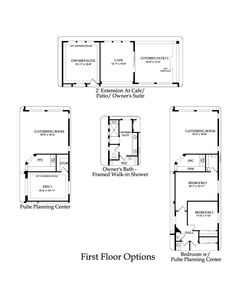 Pulte Home Parklane Model 2449 Sq Ft Lots Of Options
