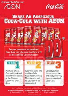 31 Jan-7 Feb 2015: AEON Share an Auspicious Coca-cola