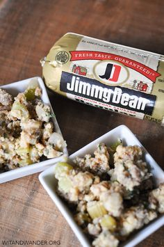 Jimmy Dean Sausage Cornbread Stuffing featured in a Lumberjack Bash Party - Wit & Wander