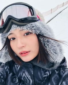 @山賀琴子: ... #MoeZine ⛷ #KotokoYamaga, #山賀琴子, #KotokoYamaga, #YamagaKotoko Winter Hats, Fashion, Moda, Fashion Styles, Fashion Illustrations, Fashion Models