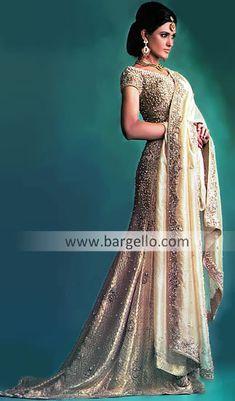 D3127 Pakistani & Indian Bridal, Ethnic Gharara, Choli, Lehnga Wedding Dresses Bridal Wear