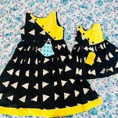 Baby Girl Dresses Diy, Baby Girl Dress Design, Baby Girl Frocks, Girls Frock Design, Frocks For Girls, Little Girl Dresses, Baby Girls, Kids Dress Wear, Kids Gown