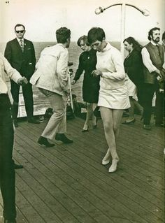 Getting down on Brighton pier in the sixties