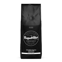 Republika Coffee Fairtrade LowAcid Organic Coffee Colombian Supremo Medium Ground Coffee 1 lb ** See this great product. (This is an affiliate link and I receive a commission for the sales) Best Organic Coffee, Best Coffee, Non Dairy Coffee Creamer, Coffee Machines For Sale, Coffee Substitute, Nitro Coffee, Coffee Company, Coffee Shop, Coffee Lovers