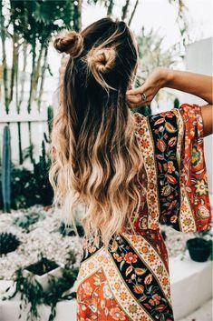 Hair goals.