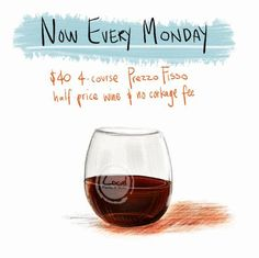 Every Monday Night @ Local Kitchen & Wine Bar - $40 4-course prix fixe and half price wines - NO CORKAGE FEE