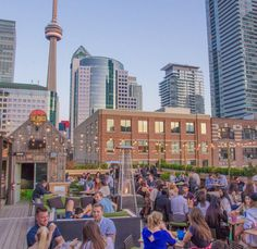 12 Spectacular Rooftop Patios In Toronto Screen Shot at AM Ontario Travel, Toronto Travel, Rooftop Restaurant, Rooftop Patio, Downtown Toronto, Best Restaurants In Toronto, Toronto Nightlife, Best Rooftop Bars, Toronto Canada