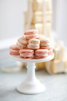 Homemade macaroons: http://www.stylemepretty.com/2011/06/02/vintage-new-york-photo-shoot-by-kt-merry-aisle-candy/   Photography: KT Merry - http://www.ktmerry.com/