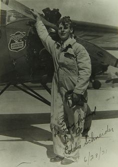 September 3, 1930: Ford National Reliability Air Tour finishes in Chicago. Harry Russell takes first place, and Eddie August Schneider finishes in eight place, but wins the Great Lakes Trophy.