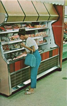 """Pleasant Family Shopping: Kroger in the """"Big D"""", 1965"""