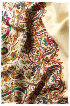 The Stained Glass - Grand Pashmina Shawl