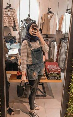 Women Fashion New Fashion Modest Fashion Hijab, Casual Hijab Outfit, Ootd Hijab, Hijab Chic, Muslim Fashion, Fashion 2020, Girl Fashion, Fashion Outfits, Womens Fashion