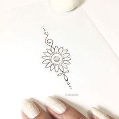 Caring For A New Tattoo - Hot Tattoo Designs Trendy Tattoos, Cute Tattoos, New Tattoos, Small Tattoos, Tattoos For Women, Tattoos For Guys, Popular Tattoos, Tatoos, Sunflower Tattoo Simple