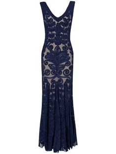 collection 8 dresses   Blue Petite Paloma Dress   Phase Eight > From Collection 8 a range of beautiful limited edition evening dresses. A stunning full length dress with intricate tapework over mesh lace. The striking navy embellishment contrasts with the soft nude jersey lining for a high impact look. This dress flatters the silhouette beautifully and features a fishtail hem.