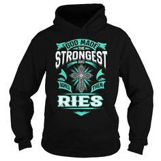 I Love RIES RIESYEAR RIESBIRTHDAY RIESHOODIE RIES NAME RIESHOODIES  TSHIRT FOR YOU T-Shirts