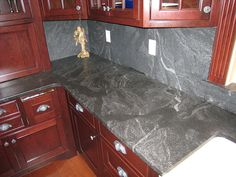 Jet Mist Honed Pantry - Countertops By Superior