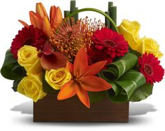 Zen Bouquets Show the Beauty of Exotic Flowers | Teleflora
