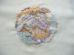 Embroidery Sample by Anna Jane Searle