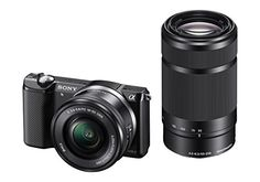 Sony ILCE-5000Y with SELP1650 & SEL55210 Lens Mirrorless Camera on January 13 2017. Check details and Buy Online, through PaisaOne.