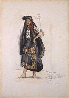 Trajes de Portugal: Aventais da Nazaré Folk Costume, Costumes, Contemporary Decorative Art, Naive Art, My Heritage, Old Pictures, Traditional Dresses, Paper Dolls, Vintage Posters