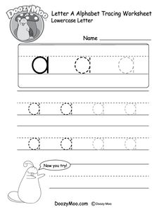 Lowercase A Tracing Worksheet - Lowercase Letter Tracing Worksheets Free Printables Doozy Moo Free Handwriting Worksheets For Kindergarten Block Style Print Lowercase Letter Tracing . Capital Letters Worksheet, Letter D Worksheet, Letter Writing Worksheets, Alphabet Writing, Handwriting Worksheets, Tracing Letters, Worksheets For Kids, English Alphabet, Handwriting Practice