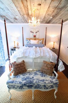 Oh, What a Feeling...We've Got Barn Board on our Ceiling! And SO can YOU...   The Heathered Nest