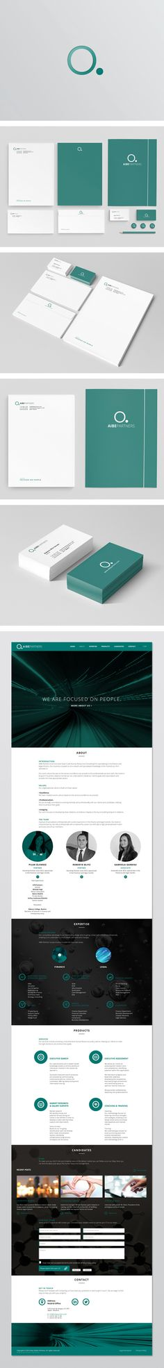 Aibe Partners themes includes, branding, corporate identity and design to…