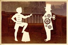 Ha!  You Got Steam Punk'd! Wilhelm Staehle, silhouette art from Silhouette Masterpiece Theatre
