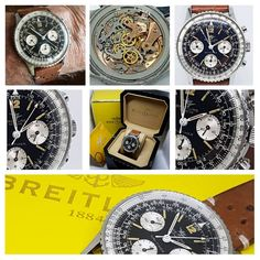 New in stock a mint condition Breitling navitimer model 806 chronograph dated 1966. #breitlingwatch #breitling #chronograph #navitimer #806navitimer #breitling806 #venuschronograph #vintagewatch...