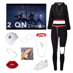 """""""ALiEN dance team: 2on ~ Tinashe"""" by valaquenta ❤ liked on Polyvore featuring WearAll, Golden Goose, Oscar de la Renta, Manokhi, Miss Selfridge, adidas, BERRICLE, Hot Topic, Lime Crime and Gucci"""